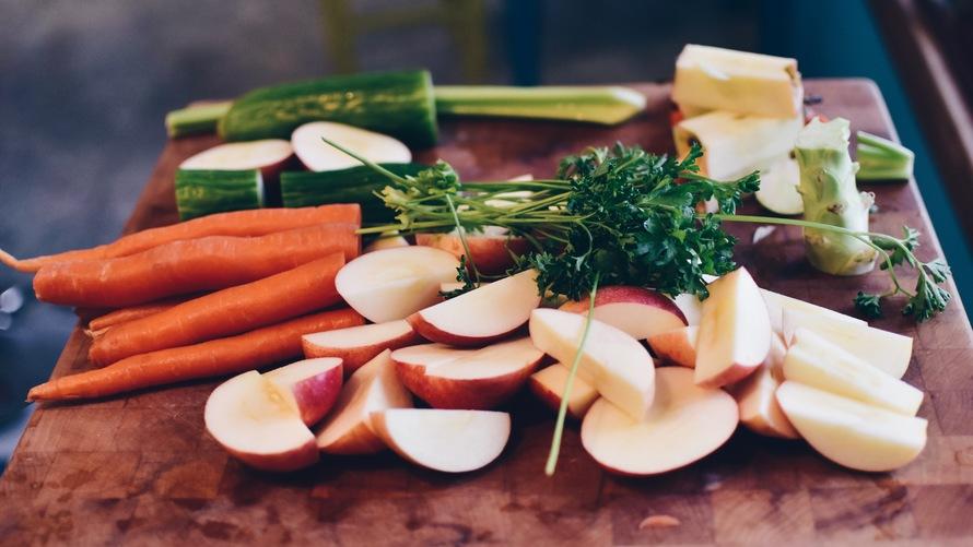jernindhold i grøntsager