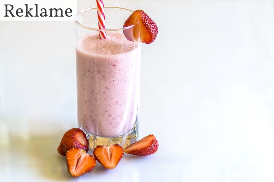 jordbær smoothie med frø