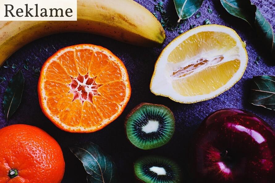 blandet frugt